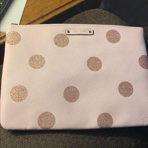 Pink with polka dots Kate spade bag